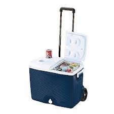 Rubbermaid 45 qt Wheeled Ice Chest by...