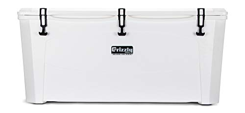 Grizzly 165 Cooler, White, G165, 165 QT