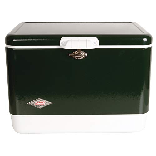 Coleman Cooler | Steel-Belted Cooler Keeps Ice Up to 4 Days |...