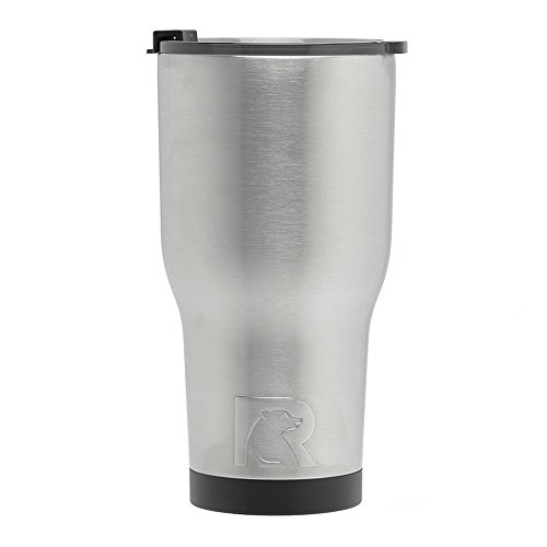 RTIC (191) Double Wall Vacuum Insulated Tumbler, 30 oz, Stainless...