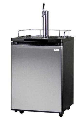 Kegco Kegerator Full Size Keg Refrigerator - Single Faucet - D...