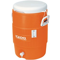 Igloo 5 Gallon Orange Cooler w/Seat Lid (EA)