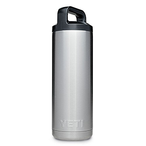 YETI Rambler 18 oz Stainless Steel Vacuum Insulated Bottle with...