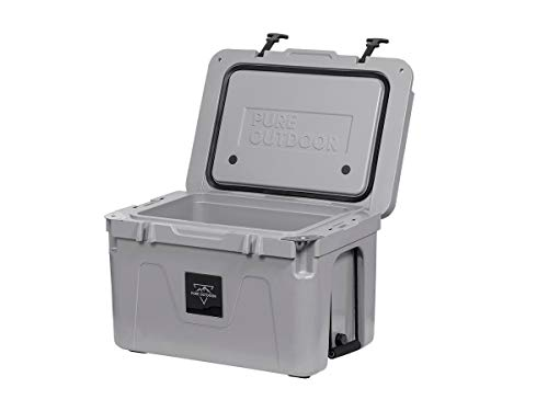 Monoprice Emperor Cooler - 50 Liters - Gray | Securely Sealed,...