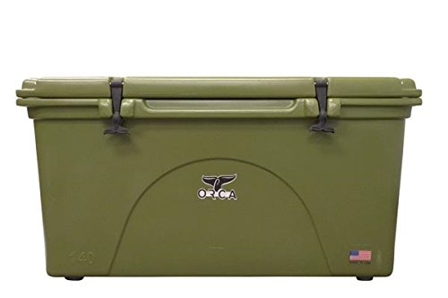 ORCA ORCG140 Cooler with Extendable flex-grip handles for...