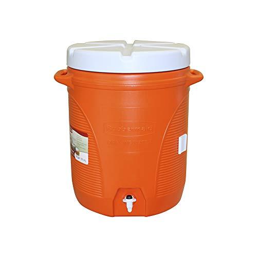 Rubbermaid Victory Jug Water Cooler, Orange,...