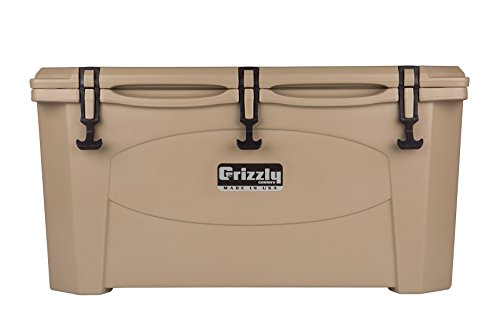 Grizzly 75 Quart Tan/Cooler