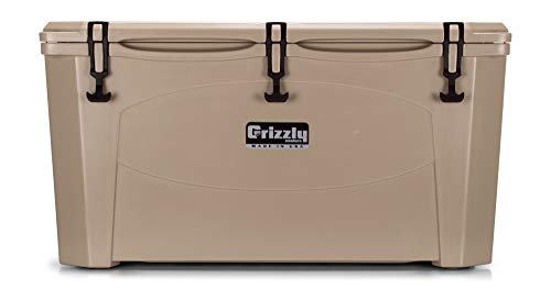 Grizzly 100 Cooler, Tan, G100, 100 QT