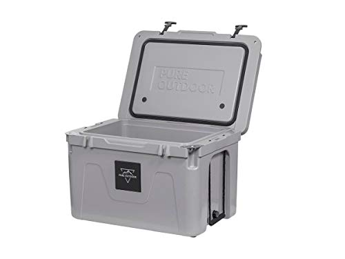 Monoprice Emperor Cooler - 80 Liters - Gray | Securely Sealed,...