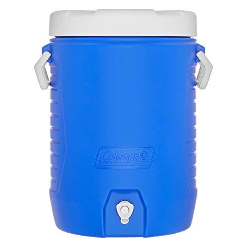 Coleman 5-Gallon Beverage Cooler, Blue
