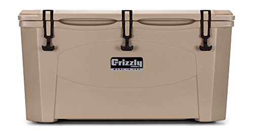 Grizzly 75 Cooler, Tan, G75, 75 QT