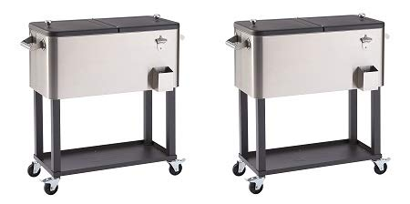Trinity TXK-0802 Stainless Steel Cooler with...