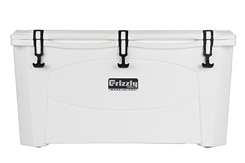 Grizzly 100 Quart White/Cooler