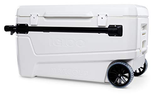 Igloo 110 Qt Glide Pro Portable Large Ice...