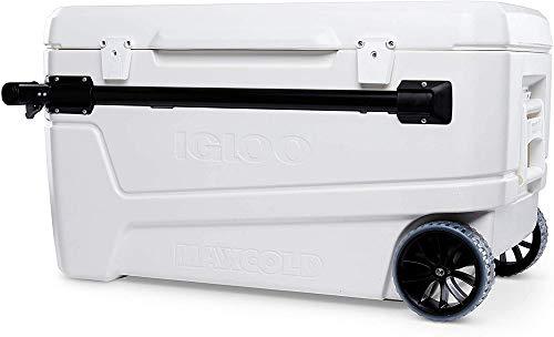 Igloo 110 Qt Glide Pro Portable Large Ice...