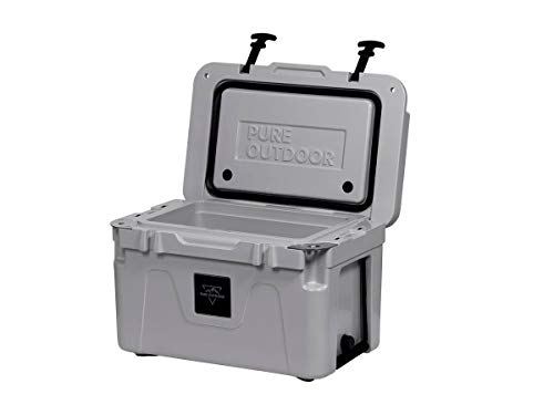 Monoprice Emperor Cooler - 25 Liters - Gray | Securely Sealed,...