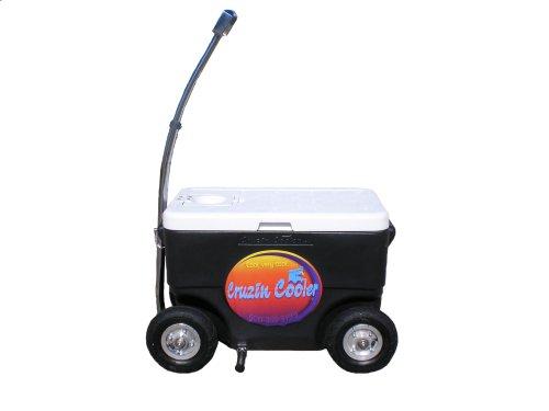 Cruzin Cooler 50-Series Coolagon Cooler Wagon/Trailer (Black)