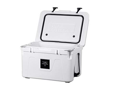 Monoprice Emperor Cooler - 50 Liters - White | Securely Sealed,...
