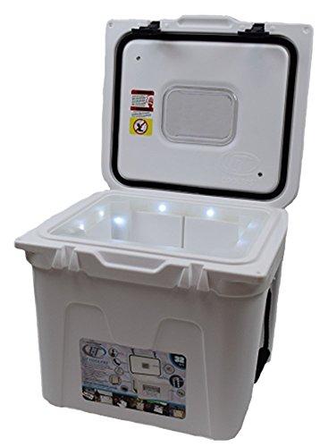 Lit Coolers TS400WW Halo, 44 Quart, White