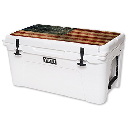 MightySkins Protective Vinyl Skin Decal for YETI Tundra 65 qt...