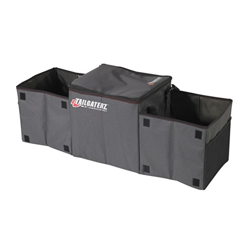 Tailgaterz Cool-N-Carry Cooler/Organizer, Game Day Graphite