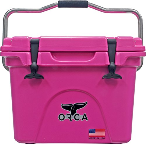 ORCA Extra Heavy Duty Cooler, Pink, 20-Quart