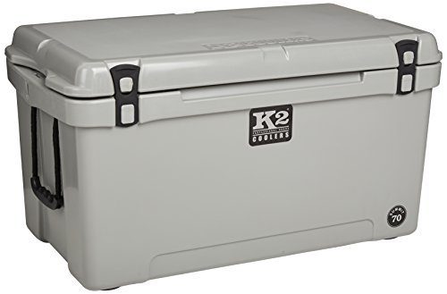 K2 Coolers Summit 70 Cooler, Gray