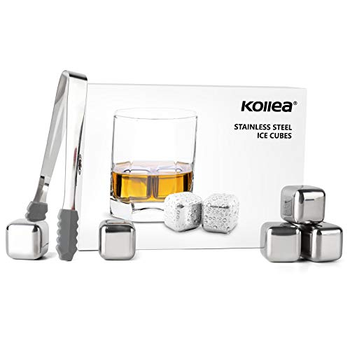 Kollea Stainless Steel Chilling Cubes...