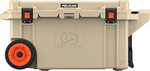 Pelican Elite 80 Quart Wheeled Cooler (Tan)