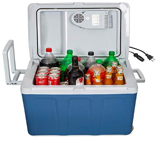 K-box Electric Cooler and Warmer with Wheels...
