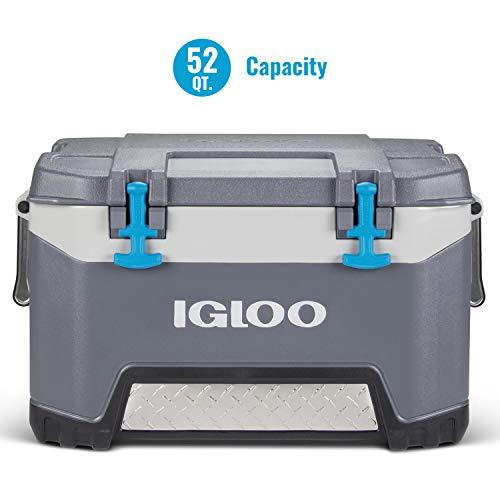 Igloo BMX 52 Quart Cooler with Cool Riser Technology, Fish Ruler,...