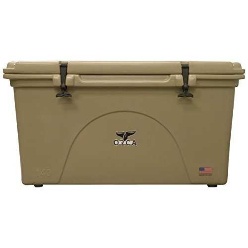 ORCA ORCT140 Cooler with Extendable flex-grip...