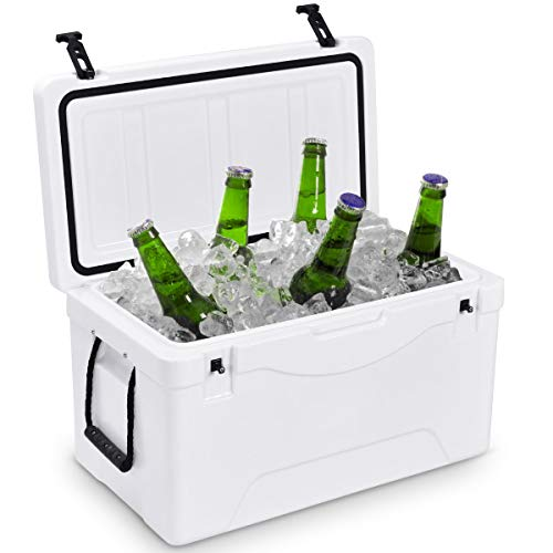 Giantex 64 Quart Heavy Duty Cooler Ice Chest Outdoor Insulated...