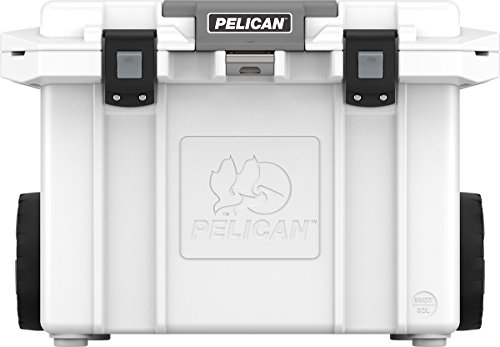 Pelican Elite 55 Quart Wheeled Cooler (White)