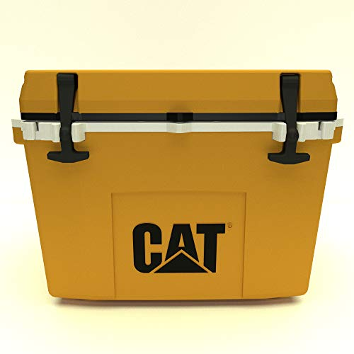 Caterpillar Cat Cooler, Cat Yellow, 27 Quart