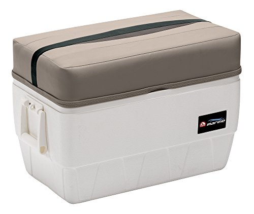 Wise Premier Series 48-Quart Igloo Cooler with Cushion Seat,...