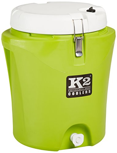 K2 Coolers Water Jug, Lime/White, 5 Gallon