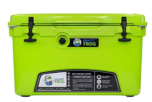 Frosted Frog Original Green 45 Quart Ice...