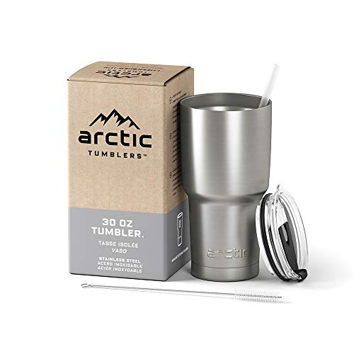 Arctic Tumblers Stainless Steel Camping & Travel Tumbler with...