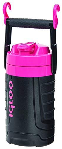 Igloo 1/2 gallon Insulated Hydration Jug, Black / Hot Rod Pink,...