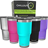 CHILLOUT LIFE 30 oz Stainless Steel Tumbler...
