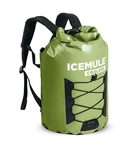 IceMule Pro Insulated Backpack Cooler Bag -...