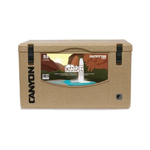 Canyon Coolers Outfitter 55 Rotomolded Cooler...