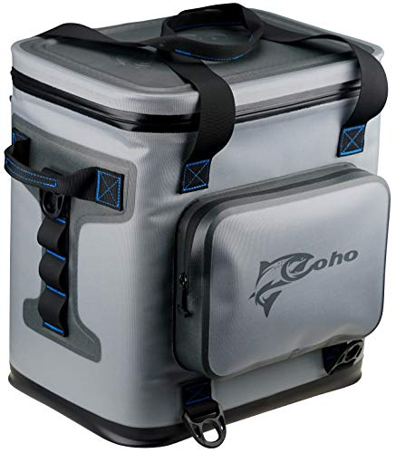 Coho Soft Sided Insulated Cooler - Fits 24 Cans + Ice - 14.37' x...