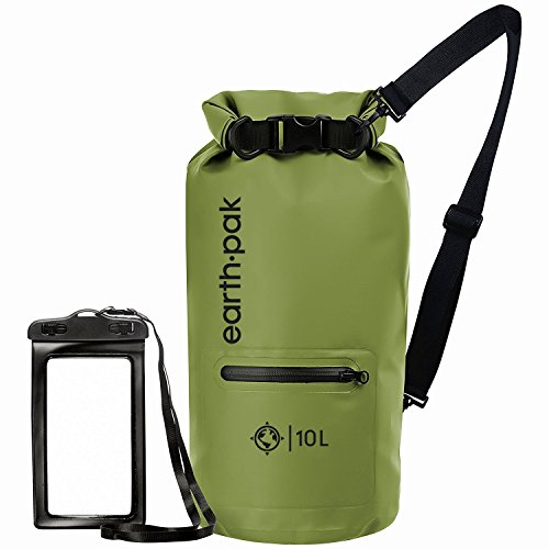 Earth Pak- Waterproof Dry Bag with Front...