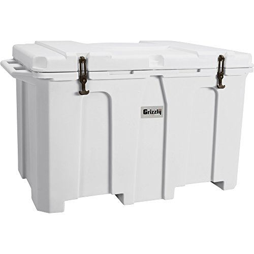White Grizzly 400-Qt. Cooler, Model# 9833 - A...