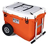 RovR Wheeled Camping Rolling Cooler with...