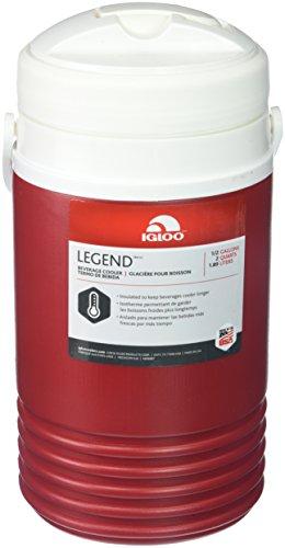 Igloo Legend Beverage Cooler (Red, 1-Gallon)