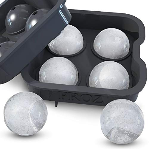 Housewares Solutions Froz Ice Ball Maker – Novelty Food-Grade...