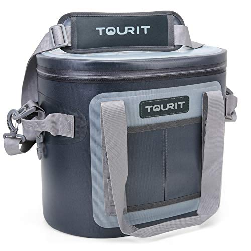 TOURIT Soft Cooler 20 Cans Leak-Proof Soft...